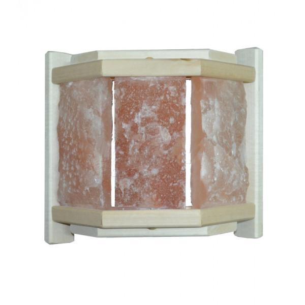 Абажур угловой с гималайской солью (3 плитки)