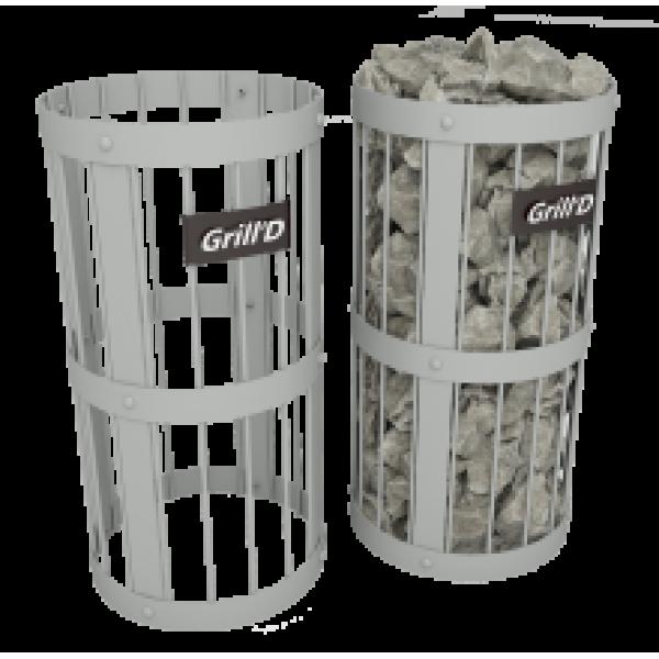 Сетка для камней Grill'D L600 D300 grey
