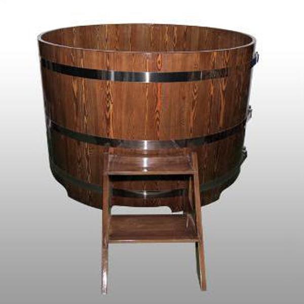 Купель круглая диаметр  1,17  h 1,0 м