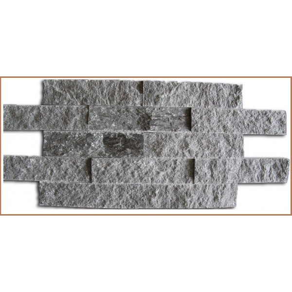 Плитка из Талькохрорита Декор фактурный 200х50х20 (уп. 0.4 м2 - 40 шт.)