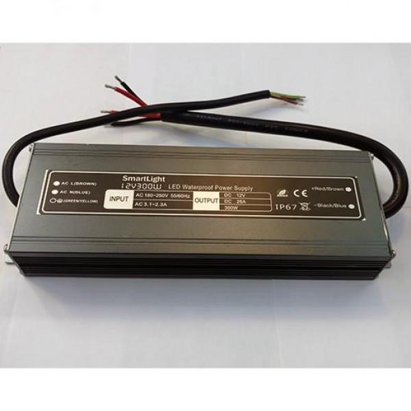 Блок питания 12V 300W 25.0A IP-67 SP-D AL герметичный