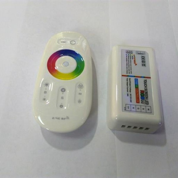 "RGBW Контроллер сенсорный RF 2.4G ""MI-Light"" 12-24V,24А"