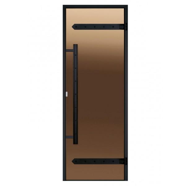 Дверь Harvia Legend STG 7×19 сосна, стекло бронза