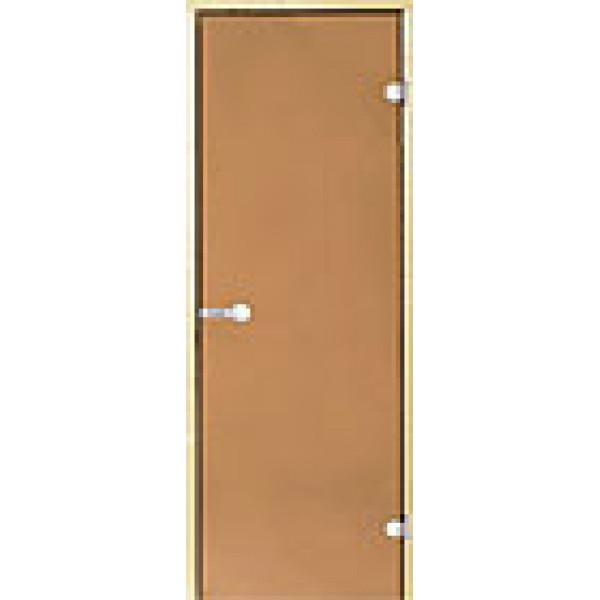 Дверь для сауны Harvia STG 7x19 ольха/бронза
