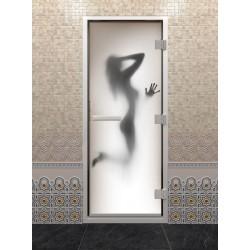 Двери для хаммама DoorWood  с фотопечатью