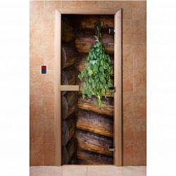 Двери для саун DoorWood с фотопечатью
