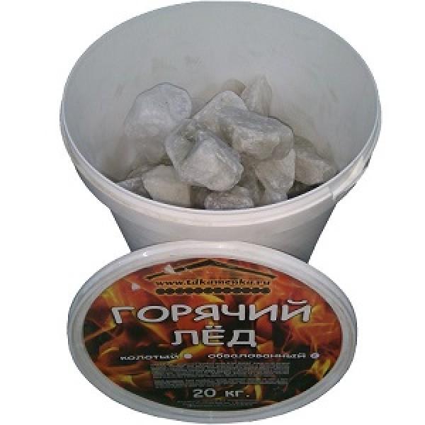 Горячий лед  (кварц) 20 кг ведро