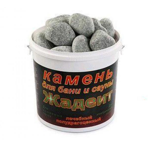 Жадеит камень ( средний, обвалованный, 5 кг)