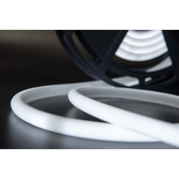 Термолента светодиодная SMD 2835, 180 LED/м, 12 Вт/м, 24В , IP68,  холодный белый 1м