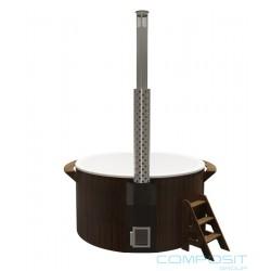 Купель для бани Круглая с подогревом