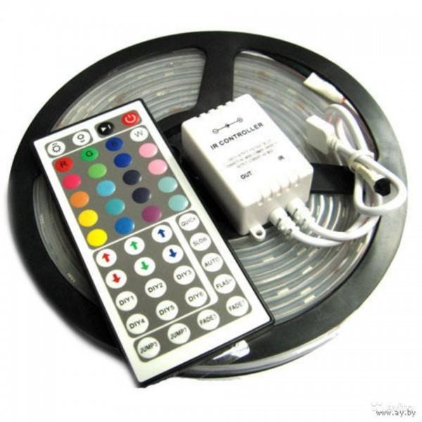 Комплект освещения RGB  термостойкий IP68 5 м