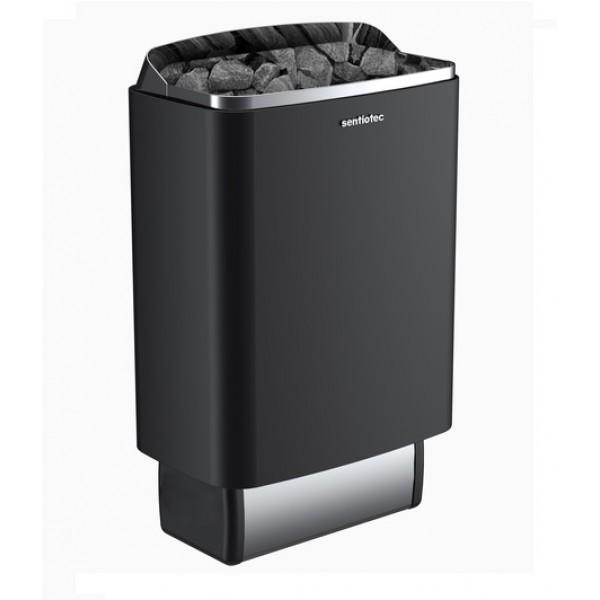 SENTIOTEC Электрическая печь без пульта, 100 series, black, 4.5 кВт