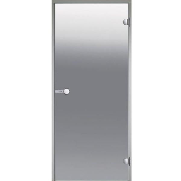 Дверь для турецкой бани  HARVIA ALU DA71905 700х1900 сатин