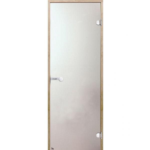 Дверь для сауны Harvia STG 7x19 ольха/сатин D71905L